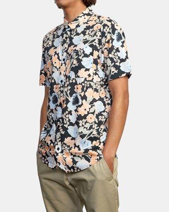 5 Pressure Drop - Short Sleeve Shirt for Men Black W1SHRORVP1 RVCA