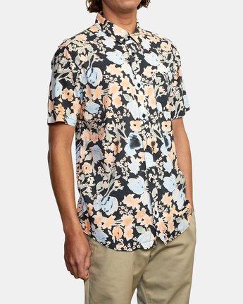 7 Pressure Drop - Short Sleeve Shirt for Men Black W1SHRORVP1 RVCA
