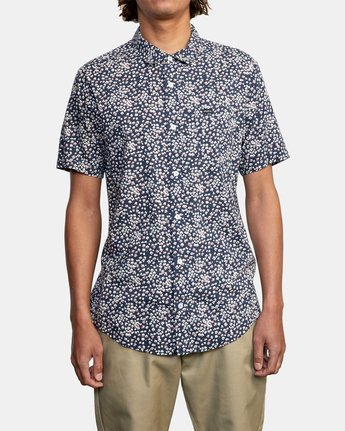 2 Bang On - Short Sleeve Shirt for Men  W1SHRQRVP1 RVCA