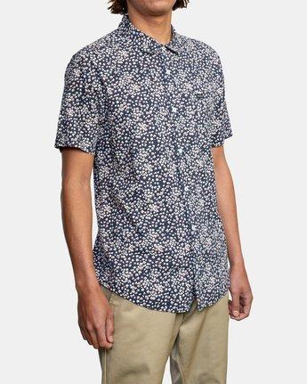 6 Bang On - Short Sleeve Shirt for Men  W1SHRQRVP1 RVCA