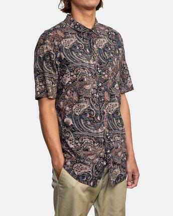 6 Tangier Paisley - Short Sleeve Shirt for Men  W1SHRTRVP1 RVCA