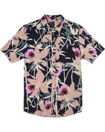 Bamboo Floral - Short Sleeve Shirt for Men  W1SHRZRVP1