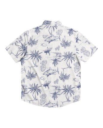 1 Panic Point - Short Sleeve Shirt for Men White W1SHSERVP1 RVCA