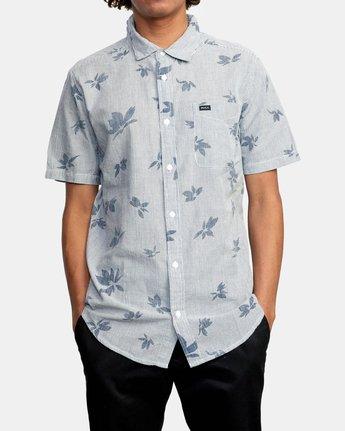 1 Endless Seersucker - Short Sleeve Shirt for Men  W1SHSFRVP1 RVCA