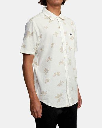 5 Endless Seersucker - Short Sleeve Shirt for Men White W1SHSFRVP1 RVCA
