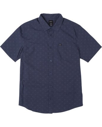 Carlo Dot - Short Sleeve Shirt for Men  W1SHSHRVP1