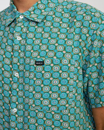 4 Vanner Gauze - Short Sleeve Shirt for Men  W1SHSIRVP1 RVCA