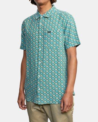 5 Vanner Gauze - Short Sleeve Shirt for Men  W1SHSIRVP1 RVCA