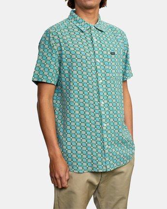 6 Vanner Gauze - Short Sleeve Shirt for Men  W1SHSIRVP1 RVCA