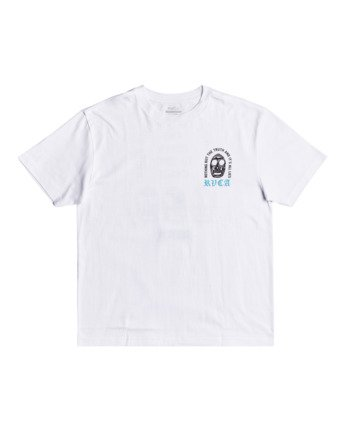1 Superblast Chaos - T-Shirt for Men White W1SSRERVP1 RVCA