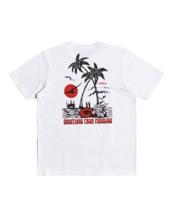 1 Bliss - T-Shirt for Men White W1SSRJRVP1 RVCA