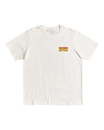 1 Martin Ander Applerobot - T-shirt pour Homme Blanc W1SSRLRVP1 RVCA