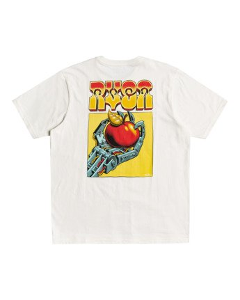 0 Martin Ander Applerobot - T-shirt pour Homme Blanc W1SSRLRVP1 RVCA