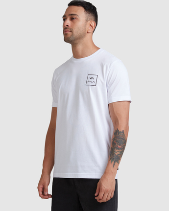 6 VA All The Ways - T-Shirt for Men White W1SSSLRVP1 RVCA
