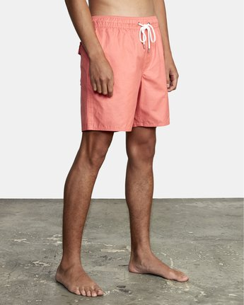 """11 Opposites 17"""" - Boardshorts for Men Pink W1VOIARVP1 RVCA"""