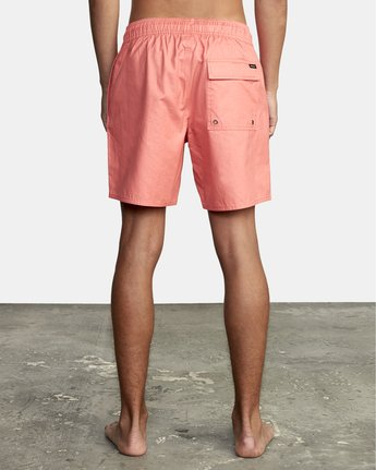"""1 Opposites 17"""" - Boardshorts for Men Pink W1VOIARVP1 RVCA"""