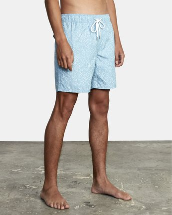 """11 Club 17"""" - Boardshorts for Men Blue W1VOIBRVP1 RVCA"""