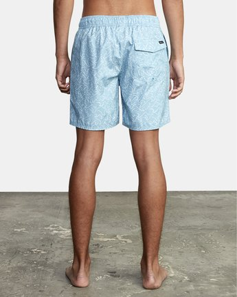 """1 Club 17"""" - Boardshorts for Men Blue W1VOIBRVP1 RVCA"""