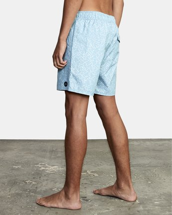 """3 Club 17"""" - Boardshorts for Men Blue W1VOIBRVP1 RVCA"""