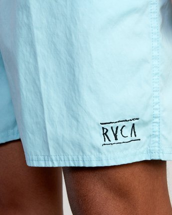 """3 Opposites 17"""" - Elasticated Shorts for Men  W1VORBRVP1 RVCA"""