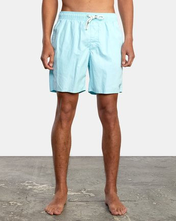 """1 Opposites 17"""" - Elasticated Shorts for Men  W1VORBRVP1 RVCA"""