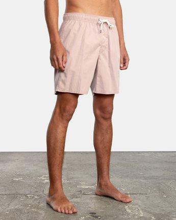"""5 Opposites 17"""" - Elasticated Shorts for Men  W1VORBRVP1 RVCA"""