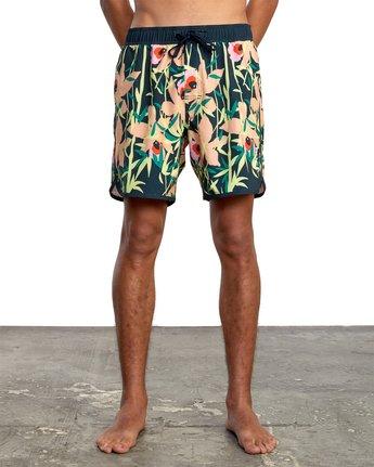 "1 Eastern 17"" - Boardshorts for Men Green W1VORCRVP1 RVCA"