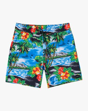 "0 VA Elastic 17"" - Swim Shorts for Men  W1VORDRVP1 RVCA"