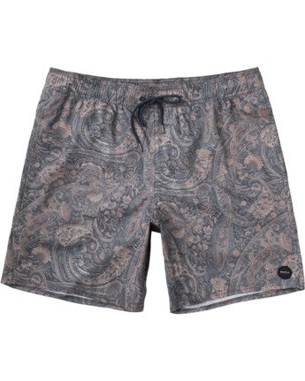"Barnes 17"" - Elasticated Shorts for Men  W1VORGRVP1"