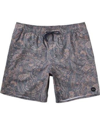 "Barnes 17"" - Elasticated Shorts for Men  W1VORGRVP1"