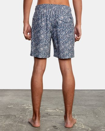 "Perry 17"" - Elasticated Shorts for Men  W1VORHRVP1"