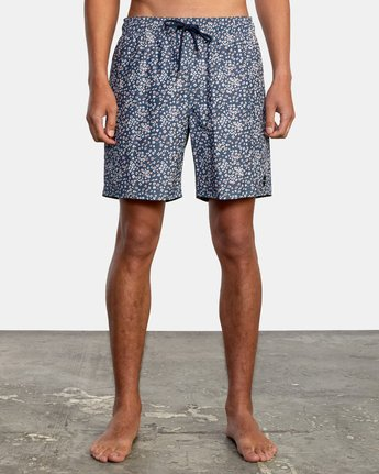 """1 Perry 17"""" - Elasticated Shorts for Men  W1VORHRVP1 RVCA"""
