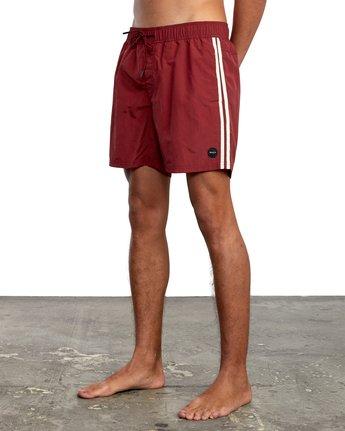 "4 Breakout 16"" - Boardshorts for Men Red W1VORKRVP1 RVCA"