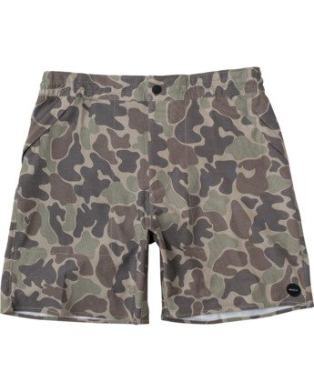"Canyon Hemp 17"" - Hybrid Shorts for Men  W1WKRFRVP1"