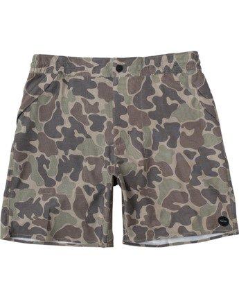 "Canyon Hemp 17"" - Hybrid Shorts for Men  W1WKRFRVP1"