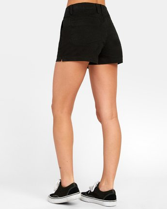 5 NO LONGER HIGH RISE SHORT Black W2021RNL RVCA