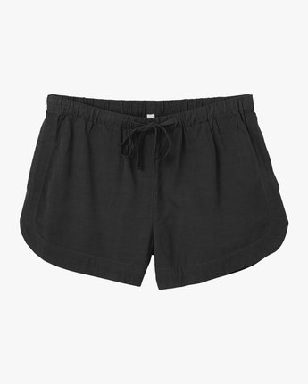 9 New Yume Elastic Short Black W202PRNY RVCA