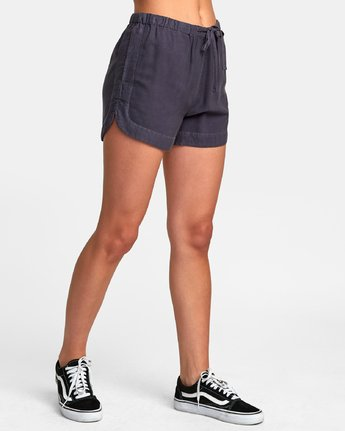 2 New Yume Elastic Short Blue W202PRNY RVCA