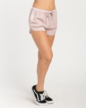 5 New Yume Elastic Short Grey W202PRNY RVCA