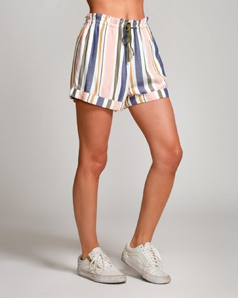 5 Jaywalk Striped Elastic Short Multicolor W204URJA RVCA