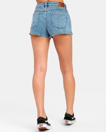 2 CUPID 2 DENIM SHORT Blue W2051RCU RVCA