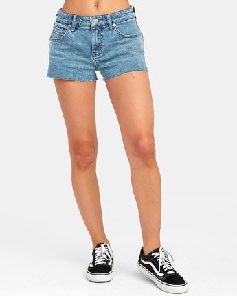1 CUPID 2 DENIM SHORT Blue W2051RCU RVCA