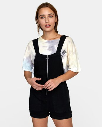 1 DAKOTA ROMPER Black W2072RDA RVCA
