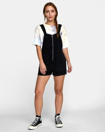 2 DAKOTA ROMPER Black W2072RDA RVCA