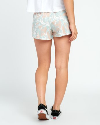3 Hawaii Yume Printed Elastic Short Grey W277SRHY RVCA