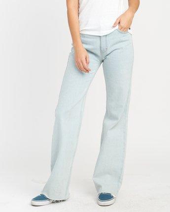 0 Boz Wide Leg Denim Jeans Blue W301NRBO RVCA