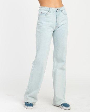 5 Boz Wide Leg Denim Jeans Blue W301NRBO RVCA