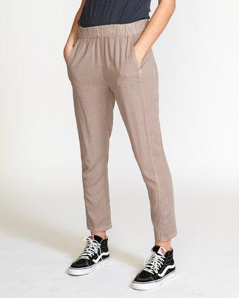 1 Chill Vibes Elastic Pant Grey W301PRCV RVCA