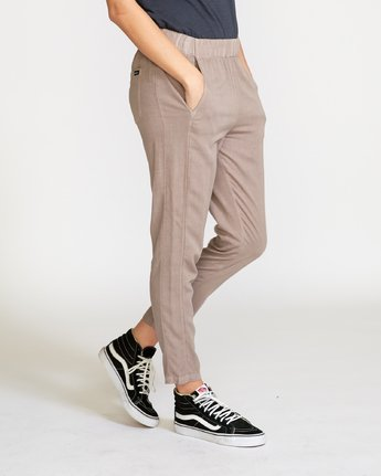 4 Chill Vibes Elastic Pant Grey W301PRCV RVCA