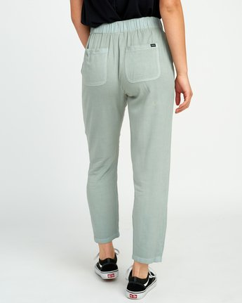 3 Chill Vibes Elastic Pant Green W301PRCV RVCA